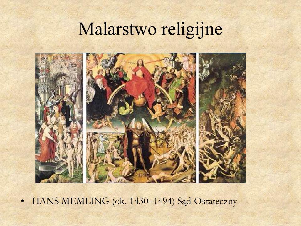 Malarstwo religijne HANS MEMLING (ok. 1430–1494) Sąd Ostateczny