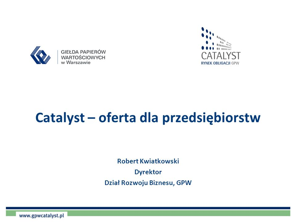 2 Co to jest Catalyst.
