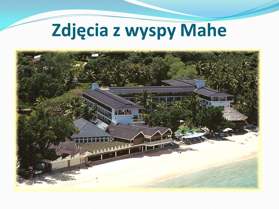Zdjęcia z wyspy Mahe