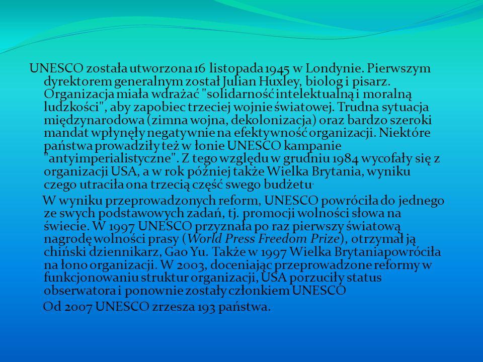 Polska Miasta i obiekty w Polsce, znajdujące się na Liście Światowego Dziedzictwa UNESCO, w celu przekazywania informacji, współpracy i promocji skupiły się w Ligę Polskich Miast i Miejsc UNESCO.