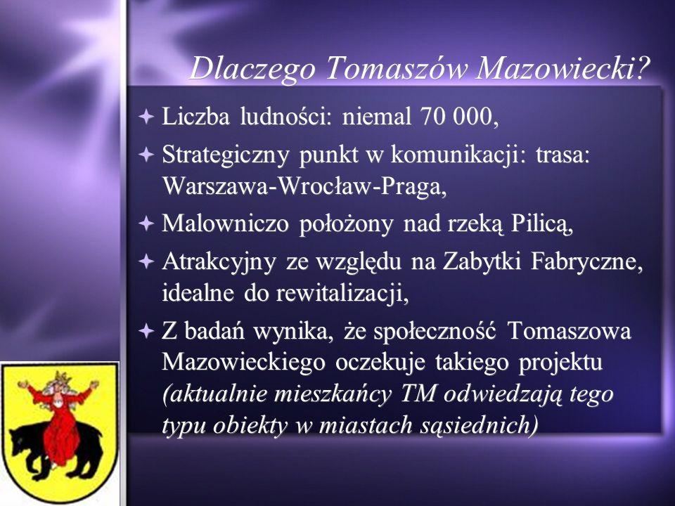 Dlaczego Tomaszów Mazowiecki.