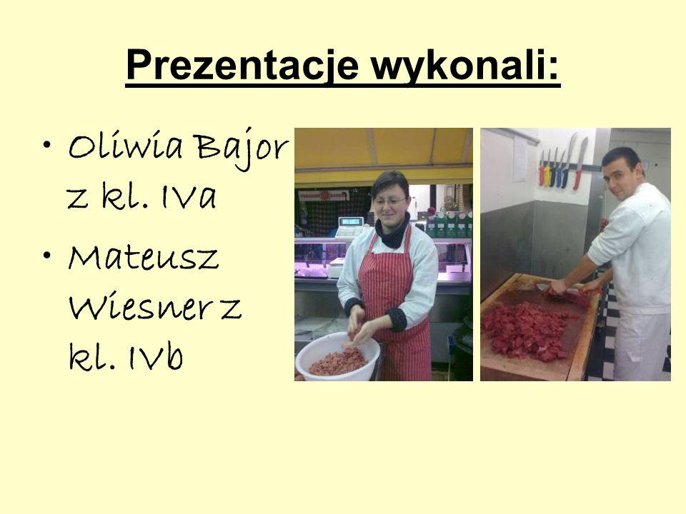 Prezentacje wykonali: Oliwia Bajor z kl. IVa Mateusz Wiesner z kl. IVb