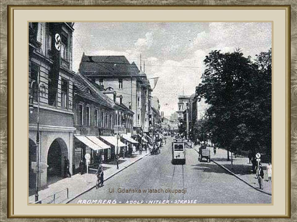 Ulica Gdańska w okresie międzywojennym