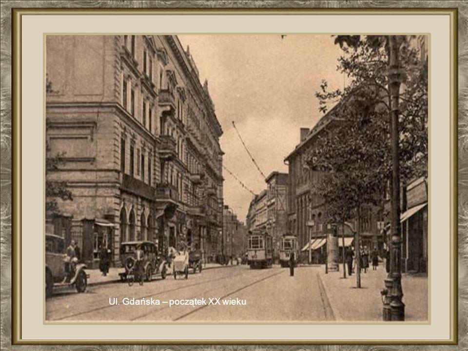 Ul.Gdańska w latach okupacji