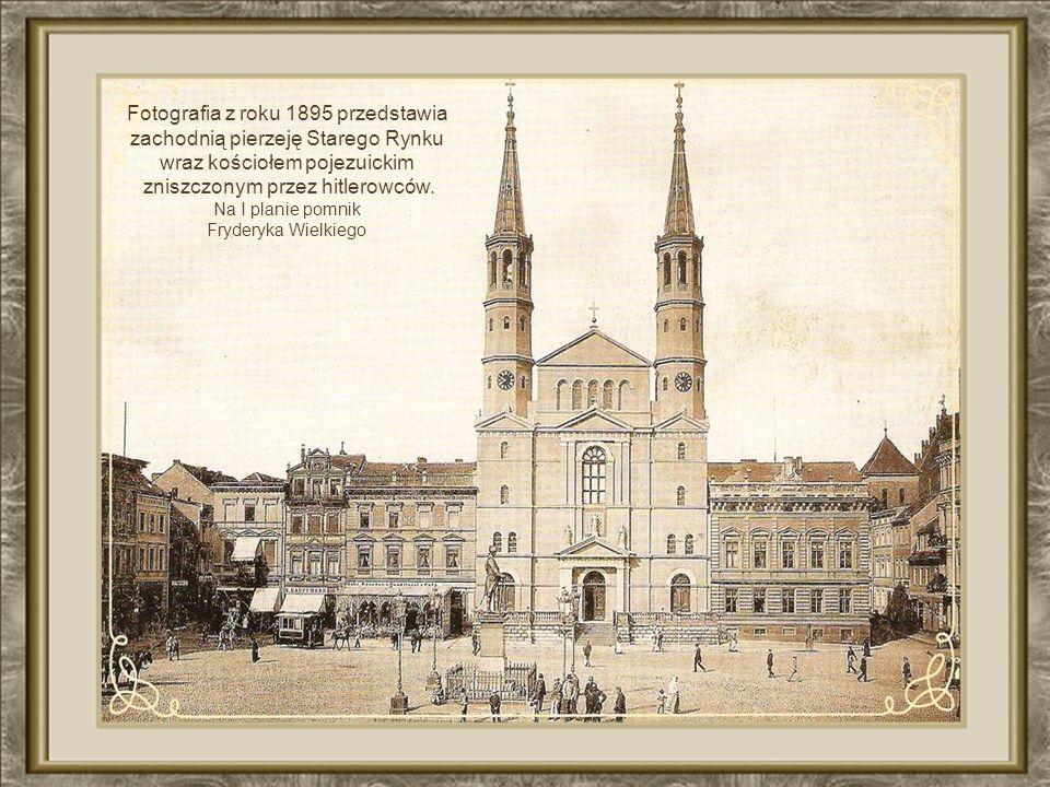 Plac Teatralny – strona wschodnia budynki zbudowane ok..1913 r.