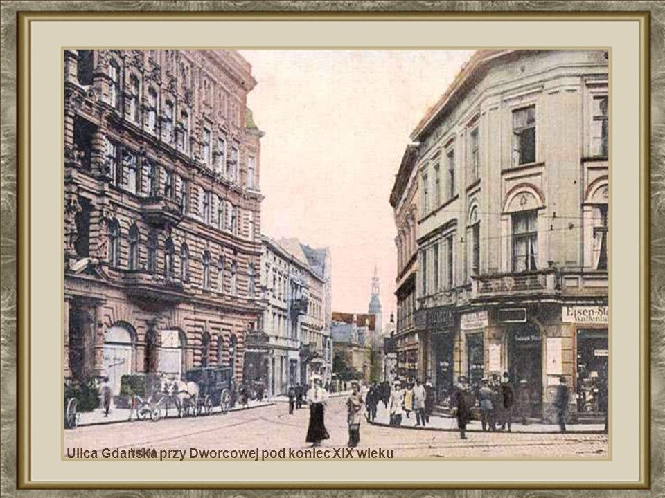 Cafe Bristol i most przez Brdę na ul. Mostowej – też przeszły do historii !