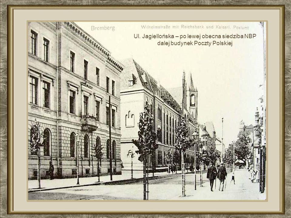 Żydowska synagoga zniszczona w wojnie. Spichrze z XVII w.