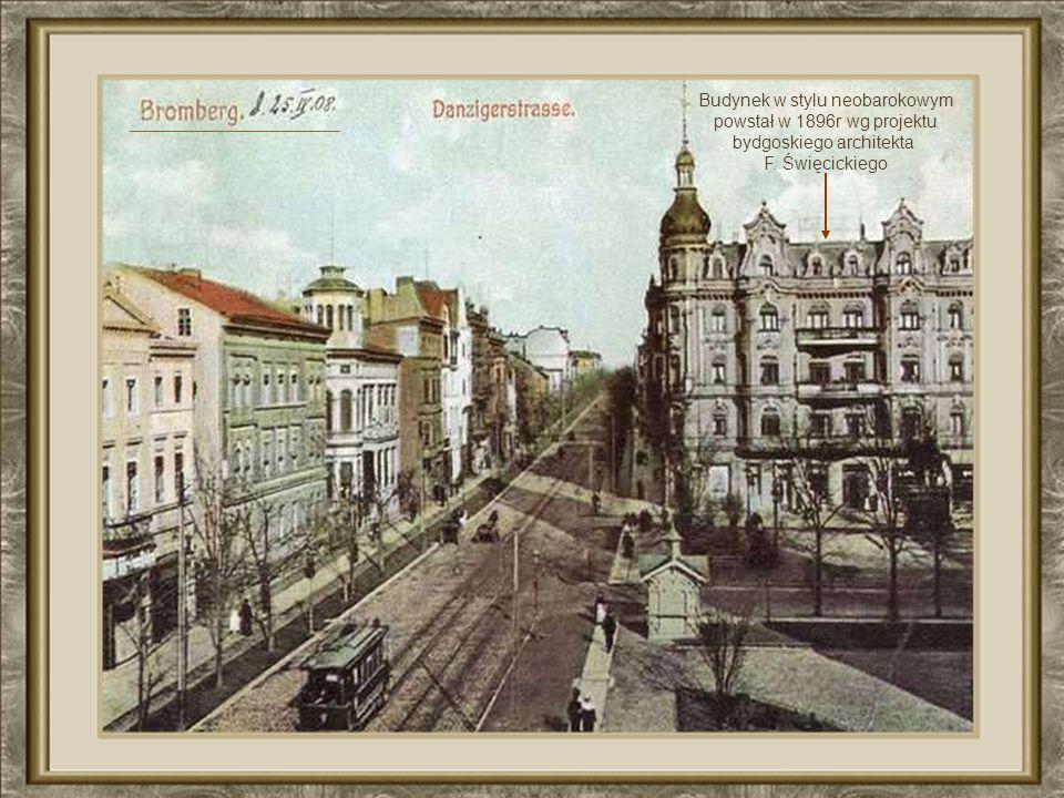 Ulica Gdańska oraz Plac Wolności w 1910r.