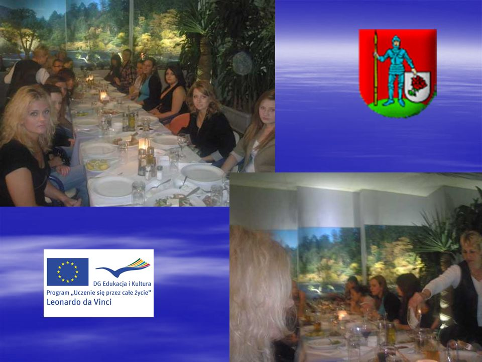 Seminaria prowadzone przez partnera: Cyprus through the Centuries (09.11.2011) The Tourism Industry of Cyprus (16.11.2011) The Greek Language and the Cypriot Dialect (21.11.2011) Traditional Cypriot products used in Gastronomy, Traditional Cypriot Hospitality (22.11.2011)