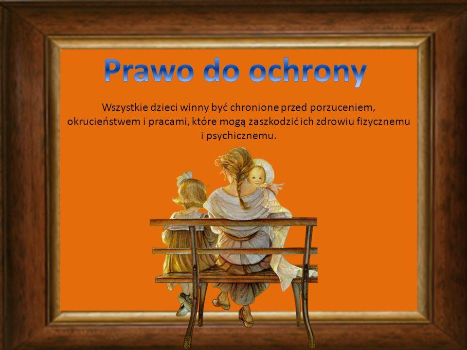 Każde dziecko może decydować o tym kto przeczyta jego list, pamiętnik czy wiersz.