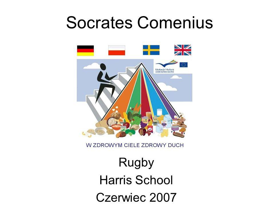 Socrates Comenius Rugby Harris School Czerwiec 2007