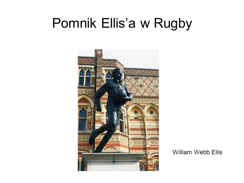 Pomnik Ellisa w Rugby William Webb Ellis