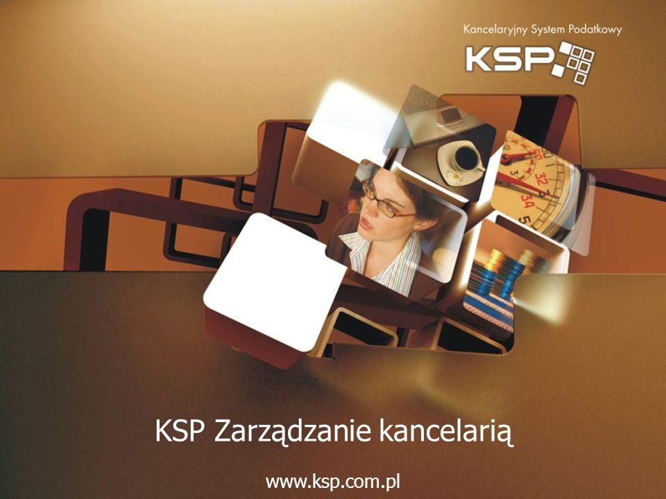 KSP Zarządzanie kancelarią www.ksp.com.pl