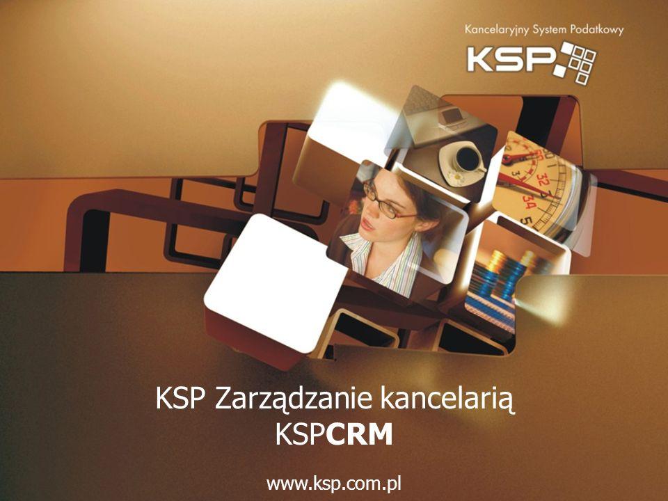 KSP Zarządzanie kancelarią KSPCRM www.ksp.com.pl