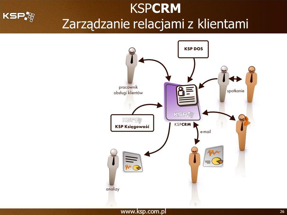 26 KSPCRM Zarządzanie relacjami z klientami
