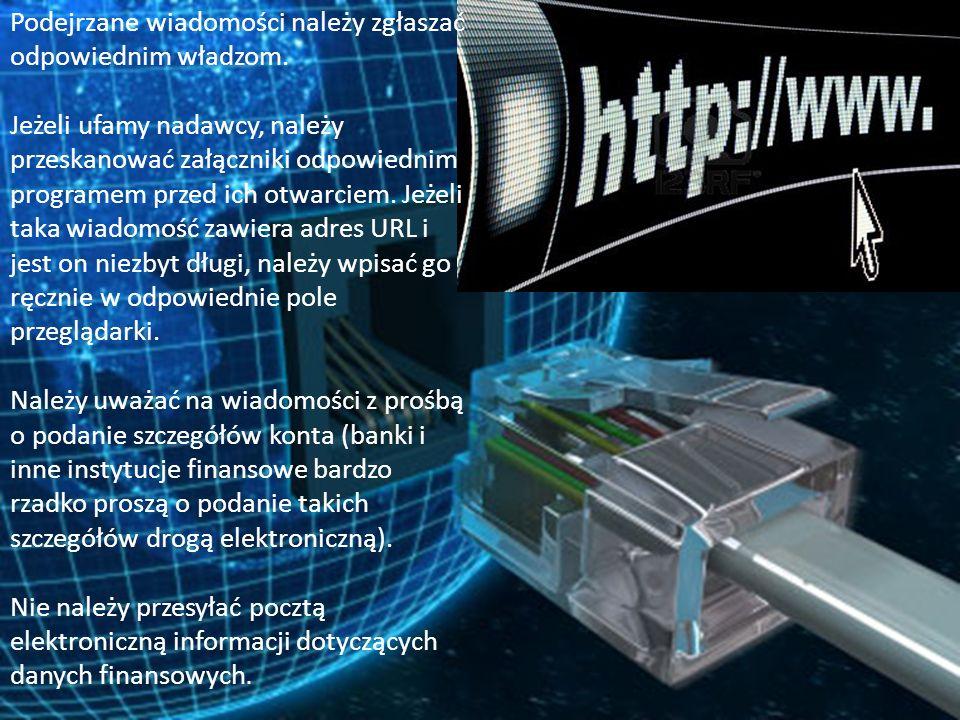 Należy korzystać z usług oceniających reputację stron, aby mieć pewność, że odwiedzany serwis internetowy nie stwarza żadnych zagrożeń.