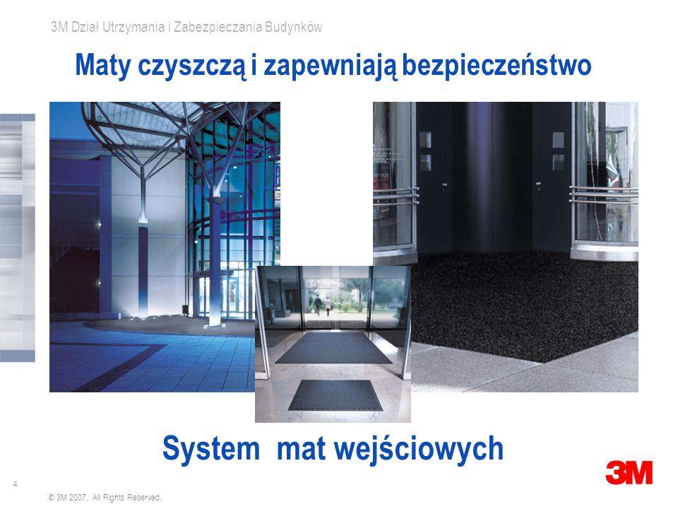 3 3M Dział Utrzymania i Zabezpieczania Budynków © 3M 2007. All Rights Reserved. - Wysokie koszty sprzątania - Rysowanie posadzki (koszty renowacji) -