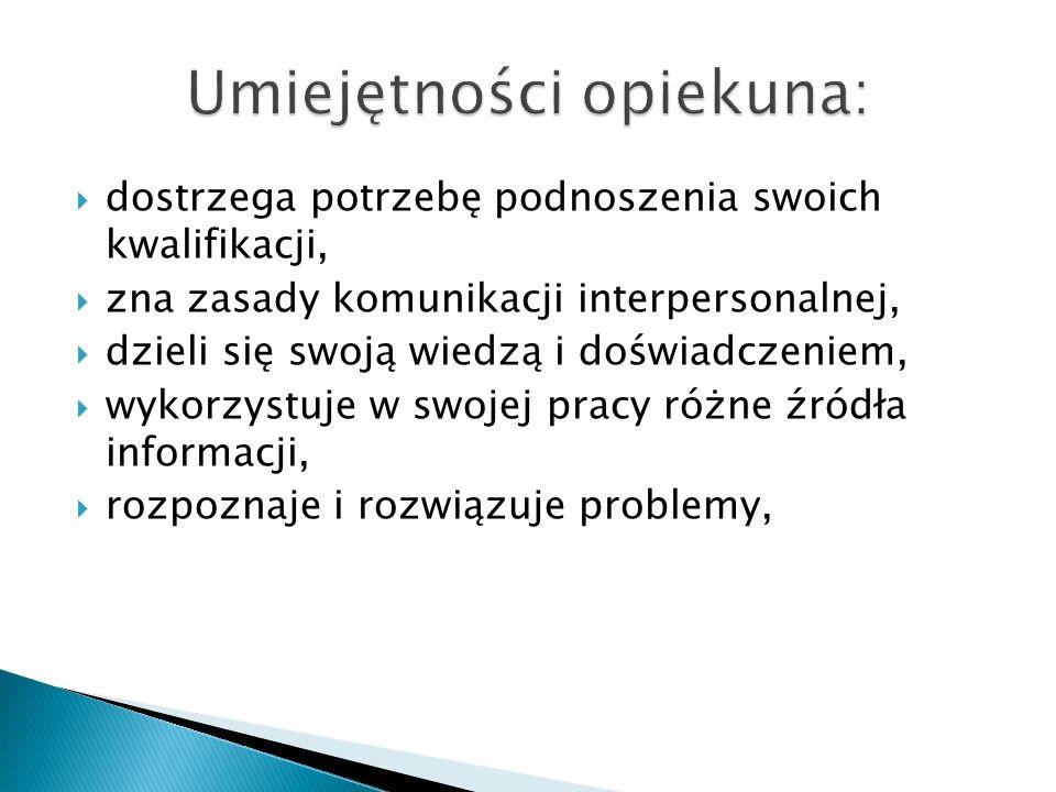 Powinie zawierać: - Cel współpracy - Zobowiązania/ zadania stażysty i opiekuna - Metody i formy współpracy - Zasady i normy - Podpisy