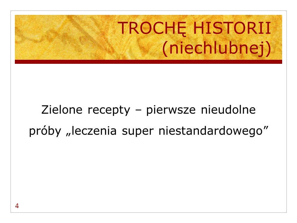 LEKI Z LISTY OTC CA Ł KOWICIE REFUNDOWANE PRZEZ NFZ W 2006 R.