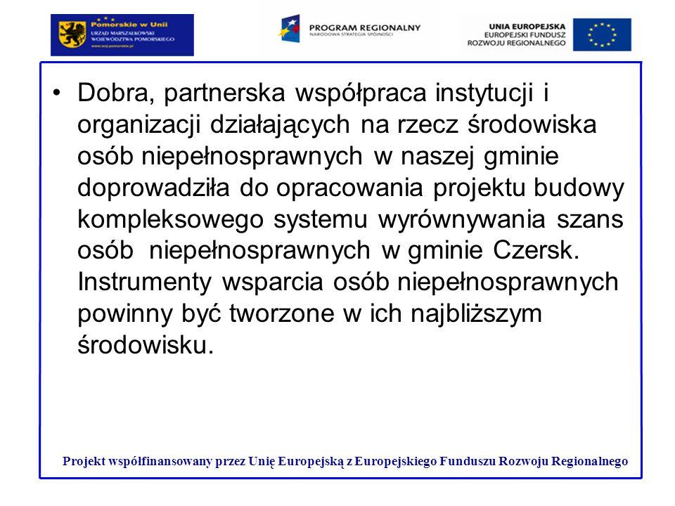 Dobra, partnerska współpraca instytucji i organizacji działających na rzecz środowiska osób niepełnosprawnych w naszej gminie doprowadziła do opracowa