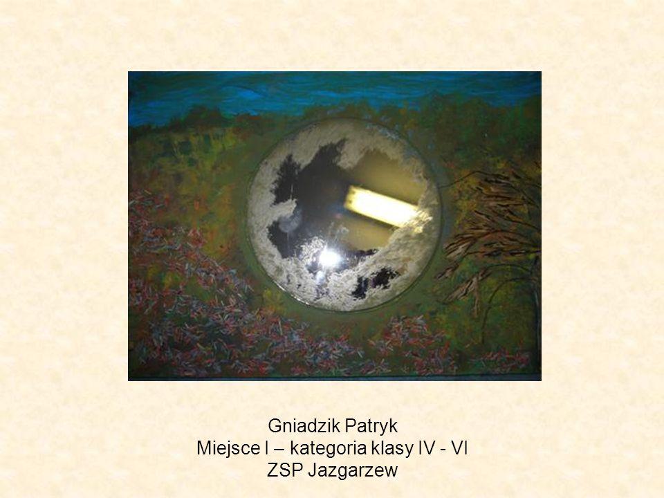 Gniadzik Patryk Miejsce I – kategoria klasy IV - VI ZSP Jazgarzew