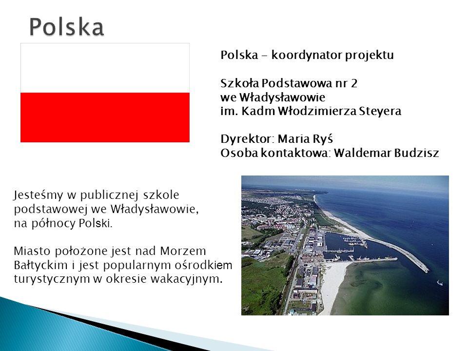Polska - koordynator projektu Szkoła Podstawowa nr 2 we Władysławowie i m.