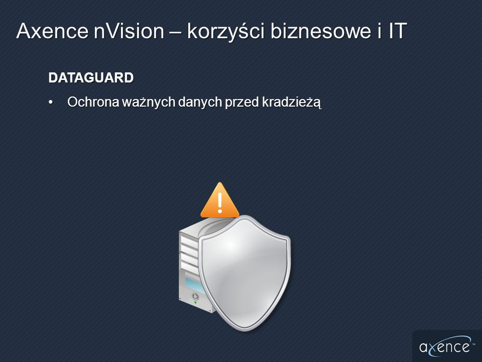 Historia zmian (instalacje/deinstalacje programów)Historia zmian (instalacje/deinstalacje programów) Informacje w nVision są zawsze aktualneInformacje w nVision są zawsze aktualne Agenty mogą przesyłać dane przez InternetAgenty mogą przesyłać dane przez Internet