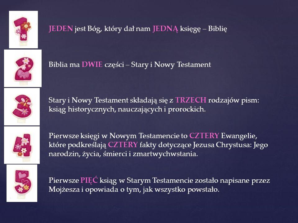 Stary Testament składa się z 39 Ksiąg, które zostały napisane w języku hebrajskim i wybrane księgi w języku aramejskim : Księga Ezdrasza i Księga Daniela.
