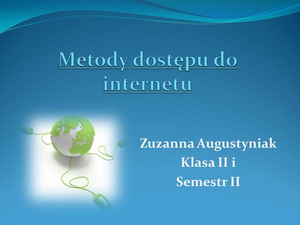 Zuzanna Augustyniak Klasa II i Semestr II