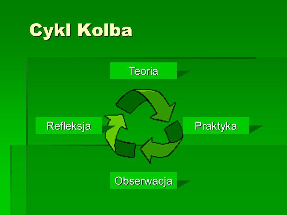 Cykl Kolba Teoria Obserwacja PraktykaRefleksja