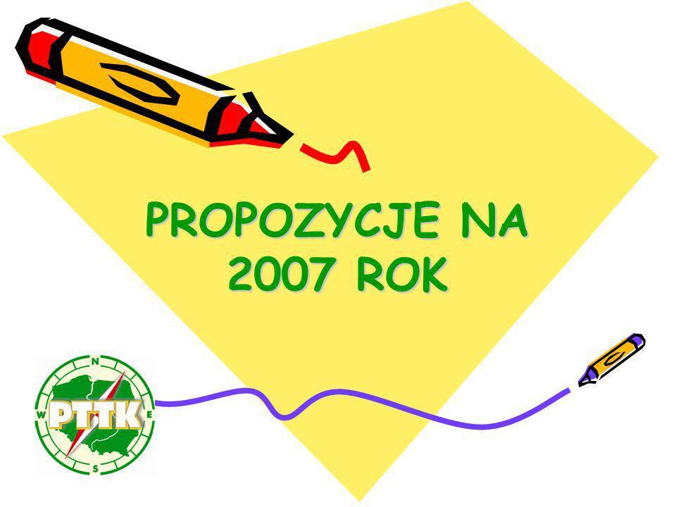 PROPOZYCJE NA 2007 ROK