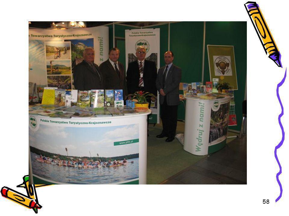 59 Propozycje targów zagranicznych na 2007 rok Vacantiebeurs Utrecht (Holandia), ITB Berlin (Niemcy), Ferie for Alle (Dania), MITT Moskwa (Rosja), Międzynarodowy Salon Turystyczny Kijów (Ukraina), IFT Slovaciatour Bratysława (Słowacja).