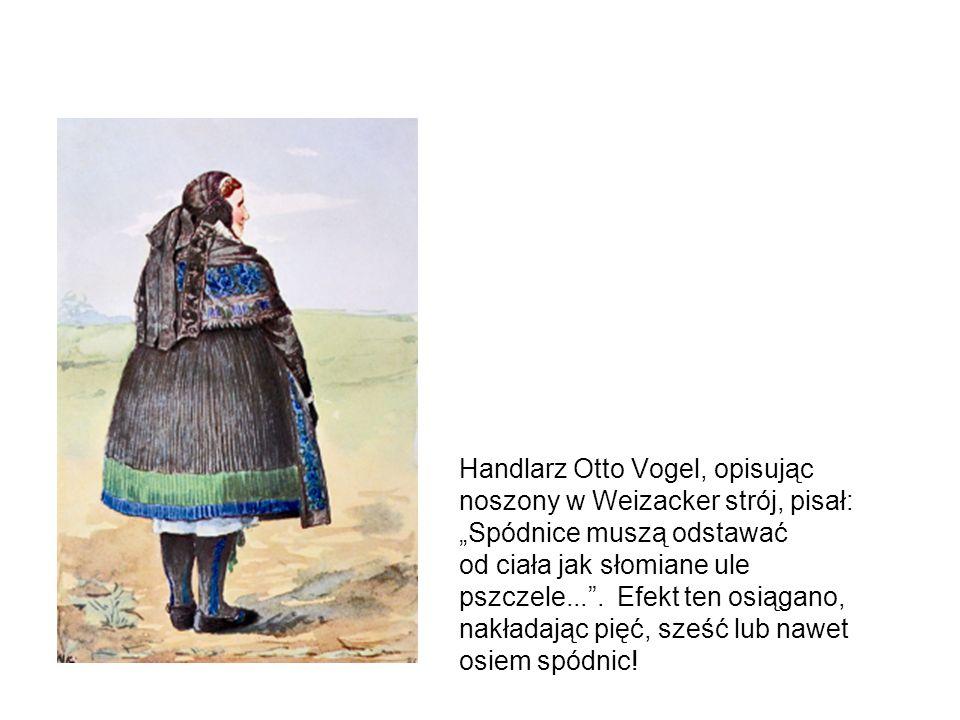 Haftowane rękawice i pończochy pochodzą z zachodniej mody miejskiej.