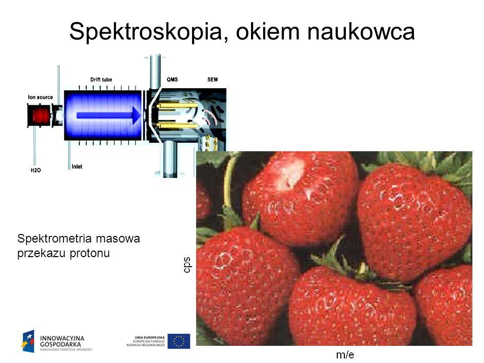 Spektroskopia, okiem naukowca Spektrometria masowa przekazu protonu