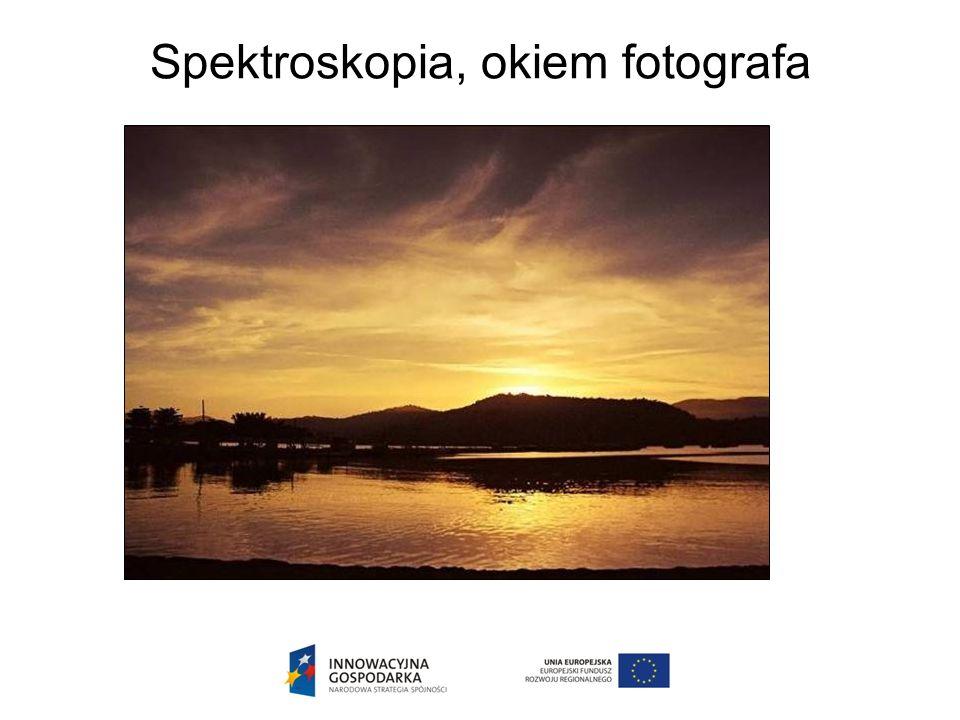 Spektroskopia, okiem fotografa