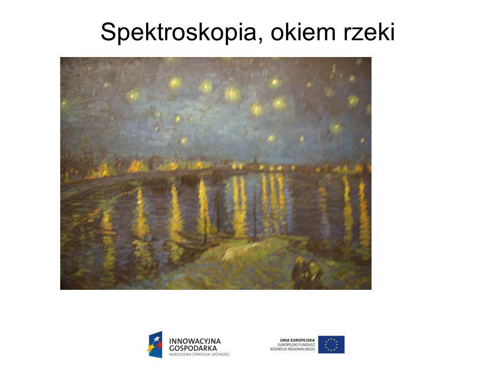 Spektroskopia, okiem rzeki