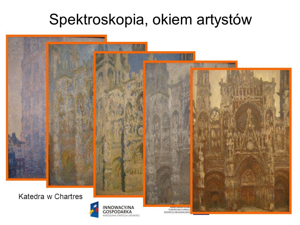 Spektroskopia, okiem artystów Katedra w Chartres