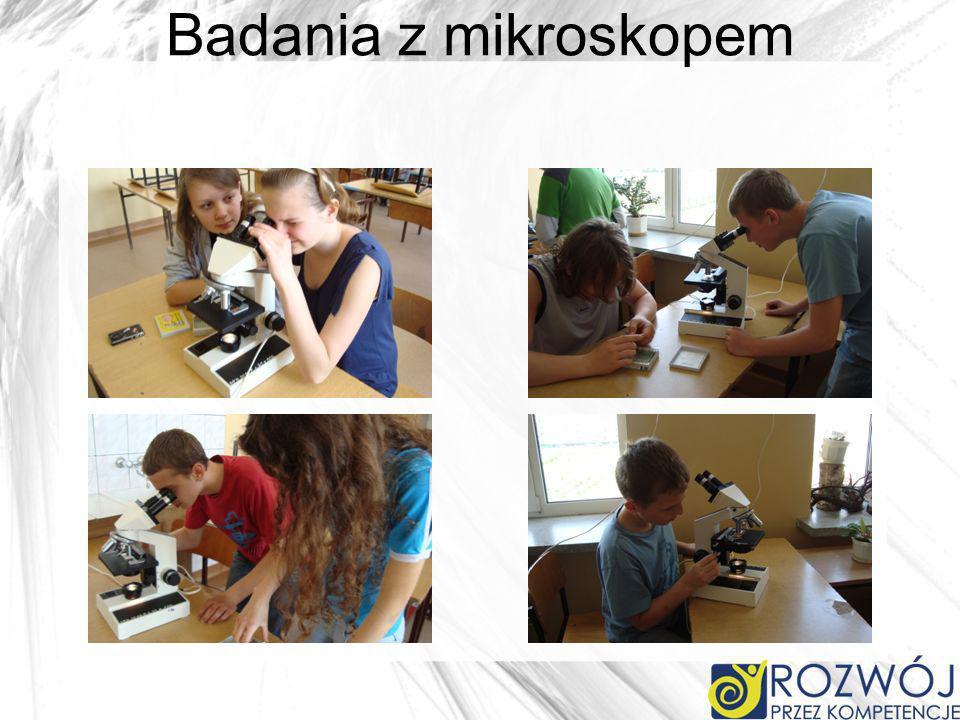 Badania z mikroskopem