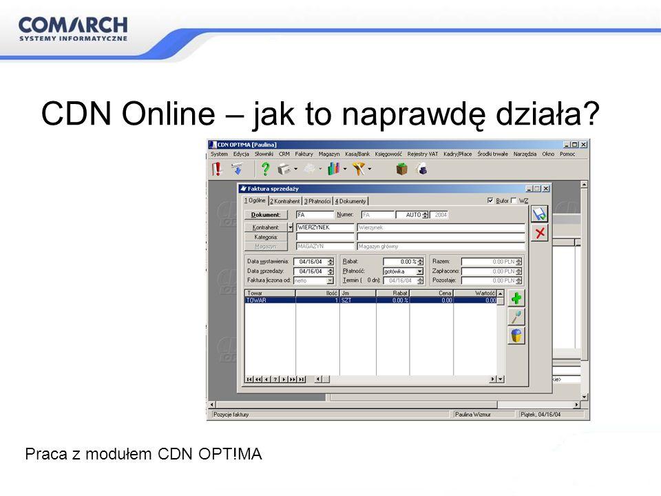 CDN Online – jak to naprawdę działa? Praca z modułem CDN OPT!MA