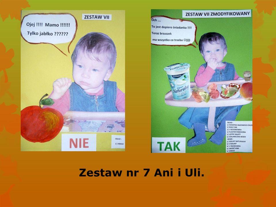 Zestaw nr 7 Ani i Uli.