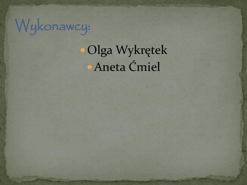 Olga Wykrętek Aneta Ćmiel