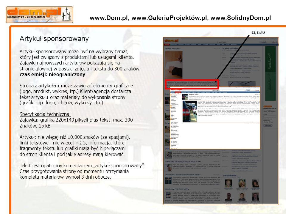 zajawka Artykuł sponsorowany Artykuł sponsorowany może być na wybrany temat, który jest związany z produktami lub usługami klienta. Zajawki najnowszyc