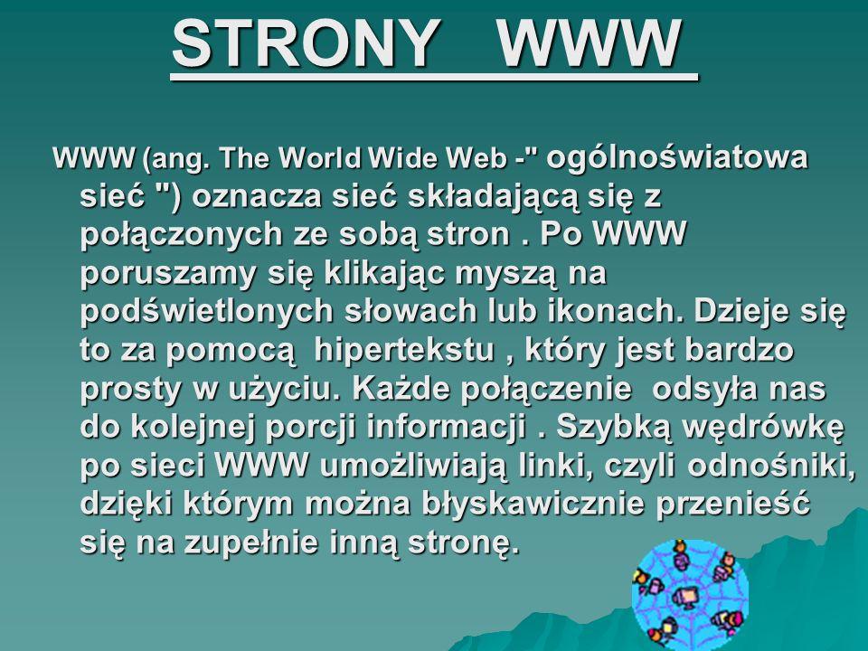 STRONY WWW STRONY WWW WWW (ang. The World Wide Web -