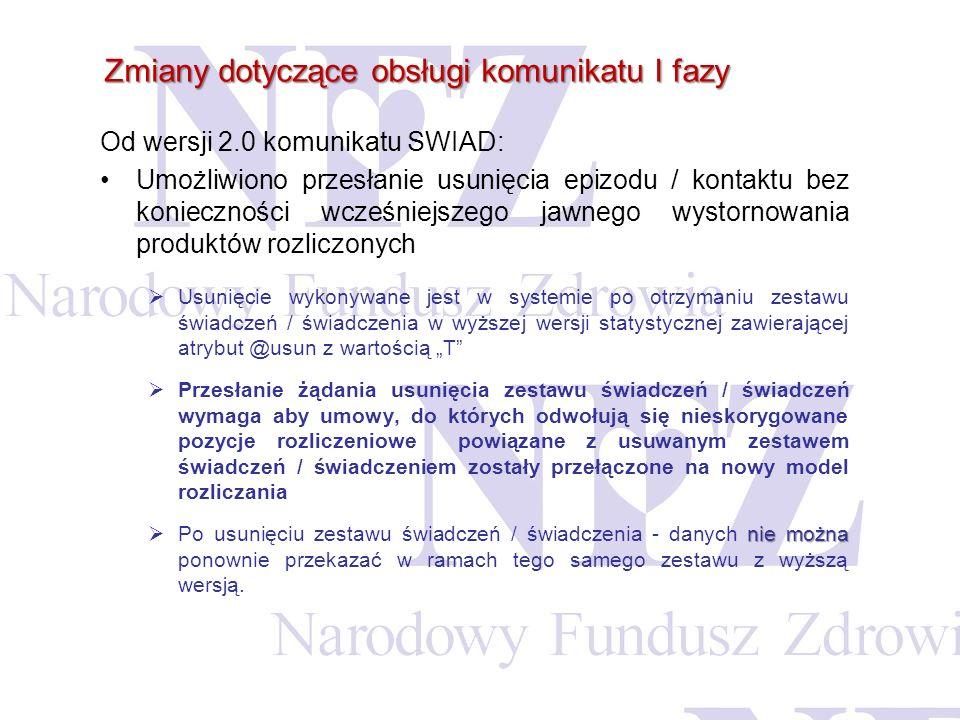 Listę wszystkich wygenerowanych szablonów do załącznika rzeczowo-fiansowego świadczeniodawca może przeglądać z poziomu Listy umów w Portalu SZOI.