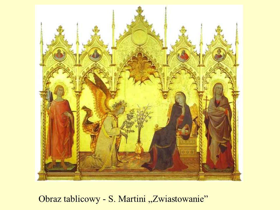 Obraz tablicowy - S. Martini Zwiastowanie