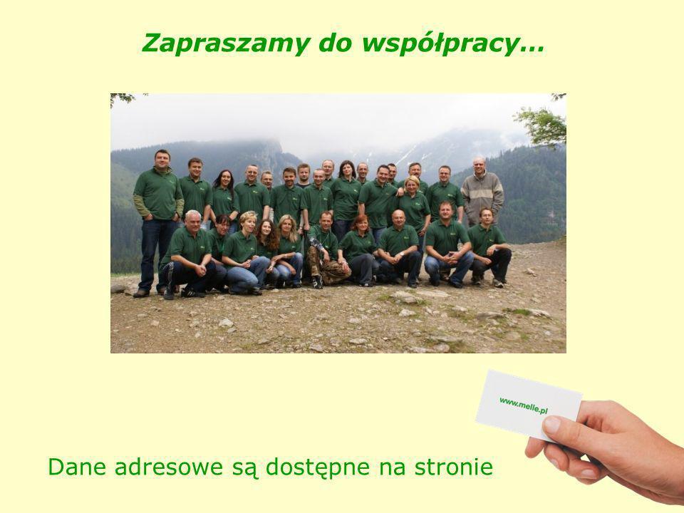 Zapraszamy do współpracy… Dane adresowe są dostępne na stronie