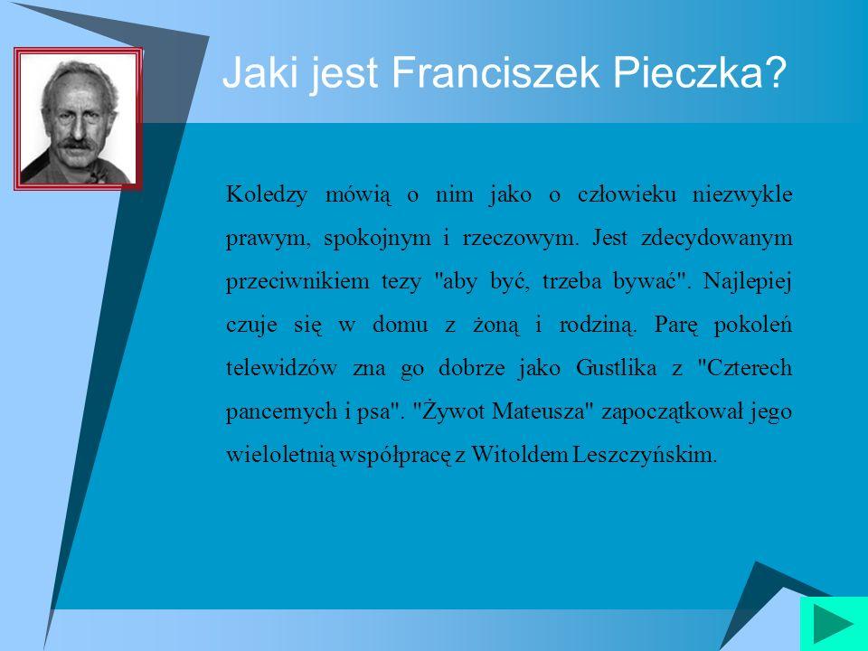 Requiem Franciszek Pieczka jako Bartłomiej Grab.2001 r.