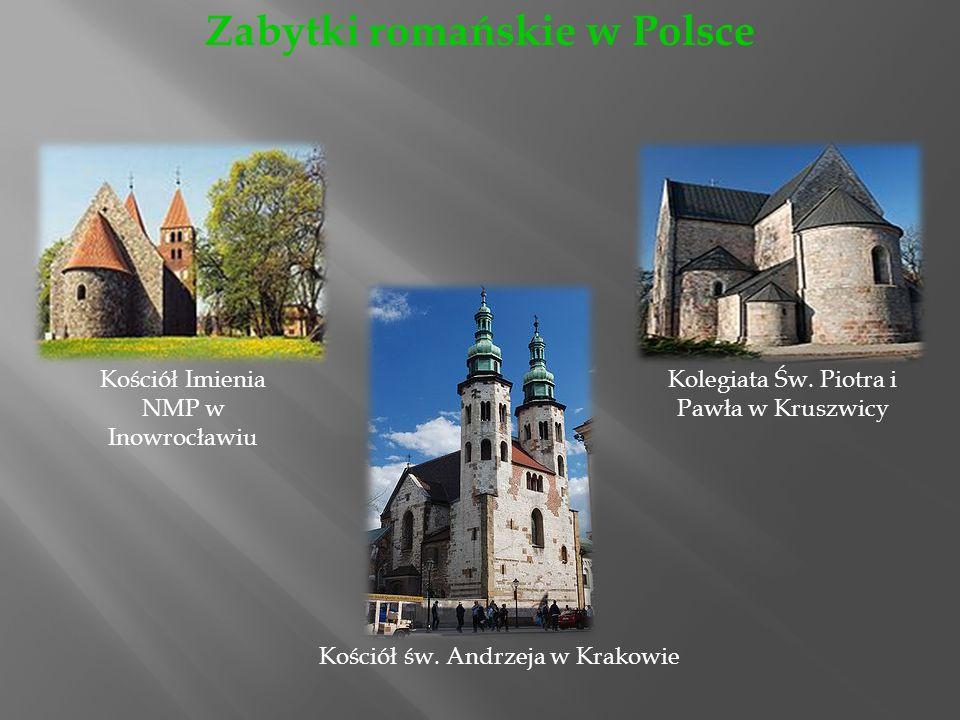 Kościół Imienia NMP w Inowrocławiu Kolegiata Św.Piotra i Pawła w Kruszwicy Kościół św.