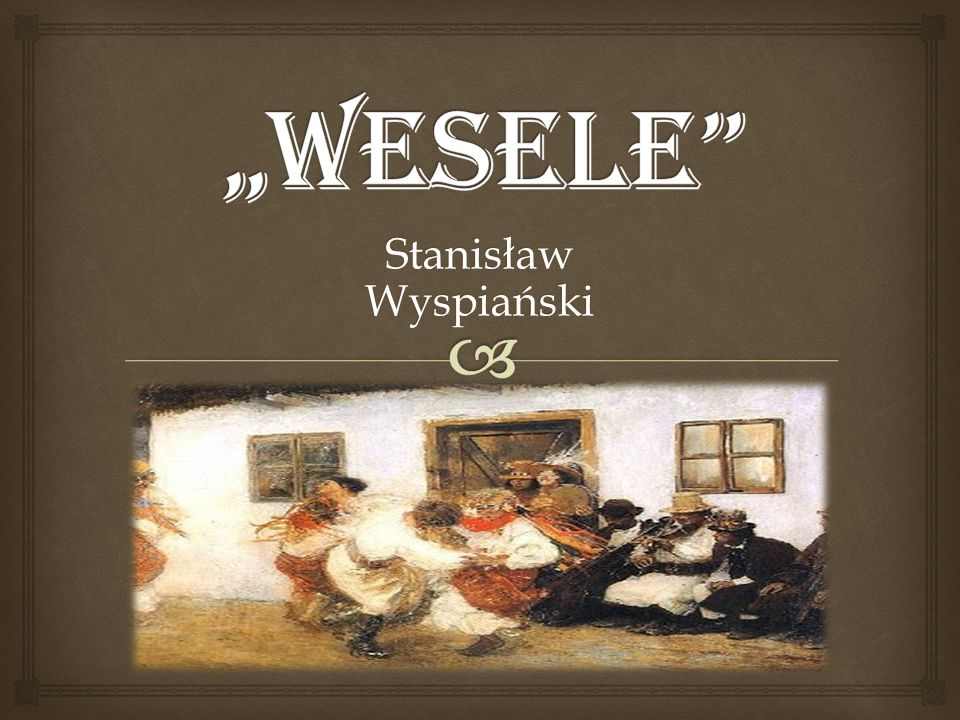 Stanisław Wyspiański – urodzony 15 stycznia 1869 r.