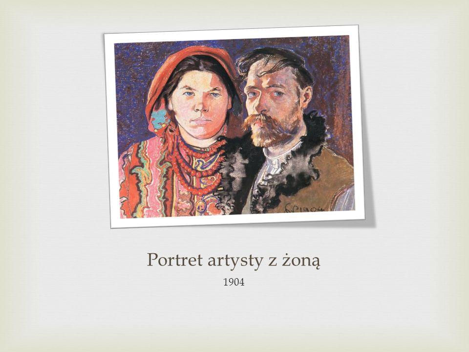Portret artysty z żoną 1904